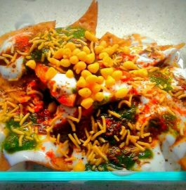 Spicy Papdi Chaat Recipe
