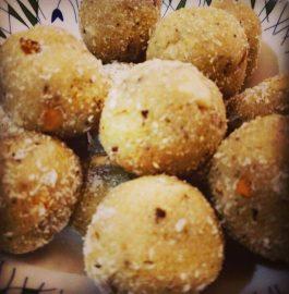 Suji Coconut Laddu Recipe