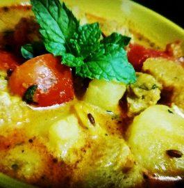 Potato Soya Chunks Recipe