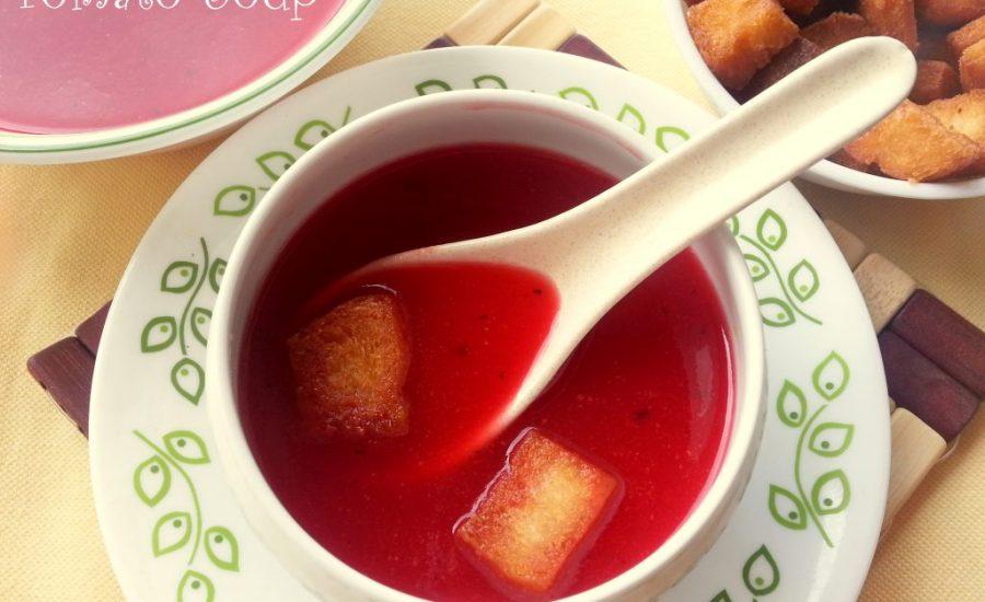 Tomato Soup in 20 mins Recipe