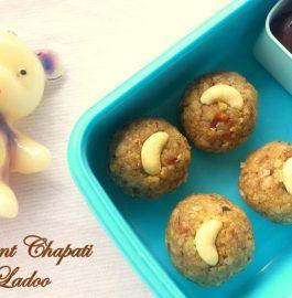Chapati Ladoo in 5 minutes Recipe