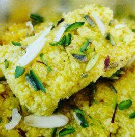 Mango Kalakand Recipe