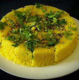 Dhokla With Rava Recipe