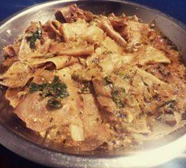 Rajasthani Papad ki Sabji Recipe