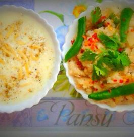 Sanwa Ki Kheer And Upma - Fasting Dish