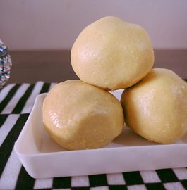 Roasted Gramdal Ladoo Recipe