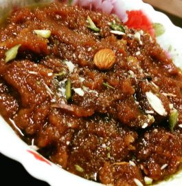 Badam (Almond) Sheera Recipe