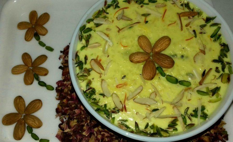 Delicious Indian Dessert: KESAR KHEER!