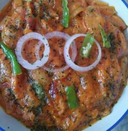 Creamy Pyaaz (Onion) Recipe