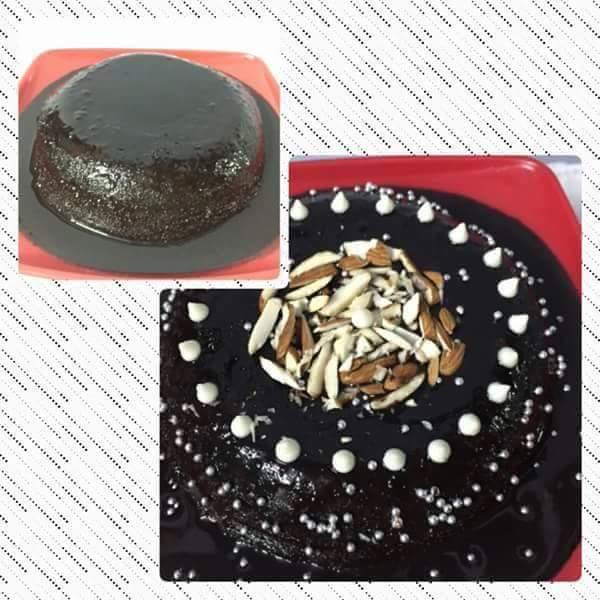Chocolate Cake in Microwave Recipe