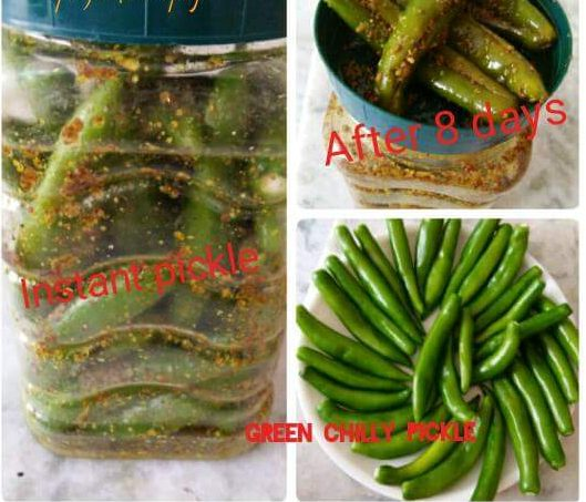 Mirchi ka Achaar ( Chili Pickle) Recipe