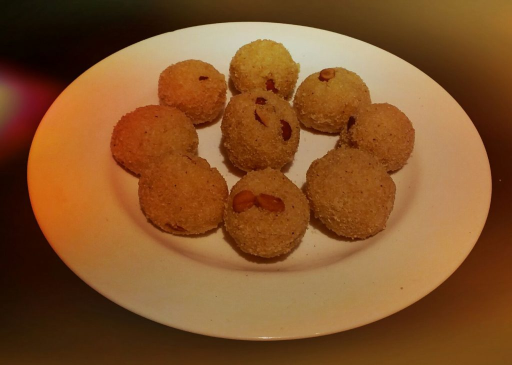 Rava Coconut Laddoo Recipe
