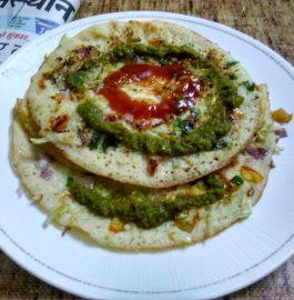 Mix Veggie Uttapam Recipe