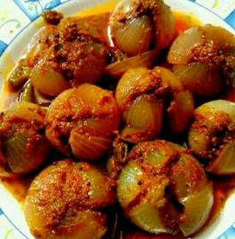 Stuffed Masala Onion Recipe