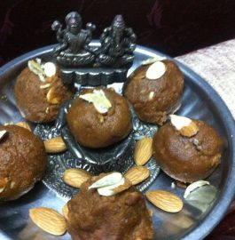 Moong Dal and Besan Mix Laddoo Recipe