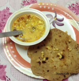 Ajwain Parantha with Dahi Tadka Recipe