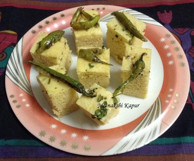 Khaman dhokla recipe zayka ka tadka khaman dhokla recipe forumfinder Gallery