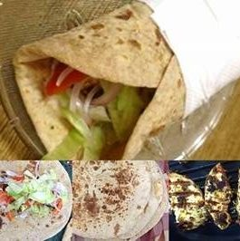 Grilled Paneer Rolls/Wrap Recipe