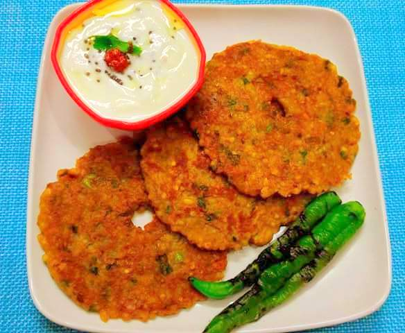 Sabudana Thali Peeth Recipe