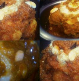 stuffed cauliflower with cashewnut Recipe