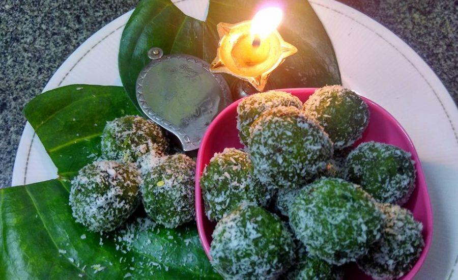 Paan Coconut Ladoo stuffed with Gulkand Recipe
