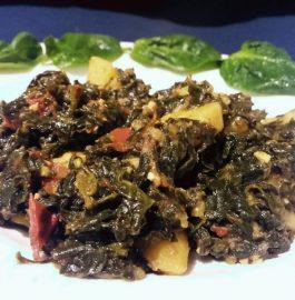 Aloo Palak -Iron Rich Sabzi Recipe