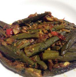Bharwan Bhindi / Stuffed Okra Recipe