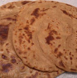 Lacchedar Ghee Roti Recipe