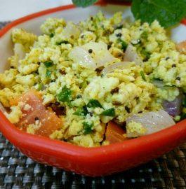 Paneer Bhurji - Tasty and Healthy