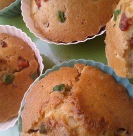 Tutti Frutti Vanilla Muffins Recipe