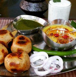 Dal Bati In Cooker | Rajasthani Special