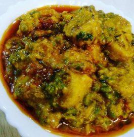 Green Danamethi Gatte - Rajasthani Special!