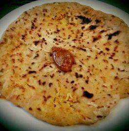 Leftover Pulav Stuffed Parathas Recipe