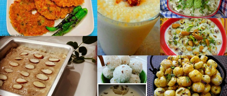 Top 9 Unique NAVRATRI Recipes for your FAMILY!
