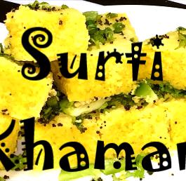 Surati Khamman Recipe
