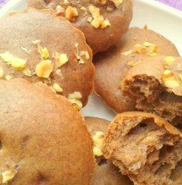 Brown Sugar Walnut Muffins Recipe