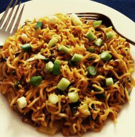 Veg Fried Noodles Recipe