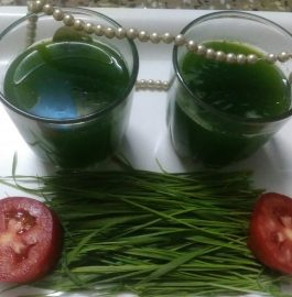 Wheat Grass Shots Recipe