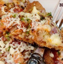 Tawa Bread Pizza Recipe