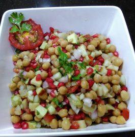 Kabuli Chana Salad Recipe