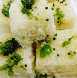 Sooji Dhokla - Yummy Breakfast