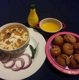 Baked Rajasthani Baat Recipe