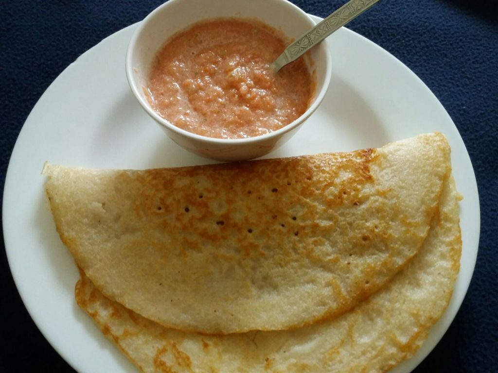 Leftover Rice Dosa Recipe