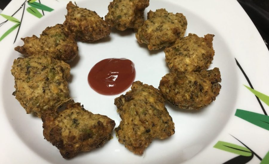 Moong Dal and Black Lentil Vada (Fritters) Recipe