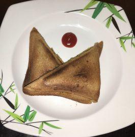 Brown Bread Veggie Sandwich Recipe
