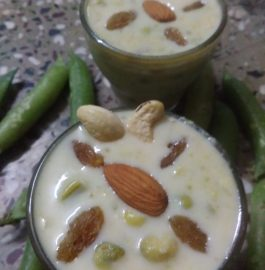 Green Peas kheer Recipe