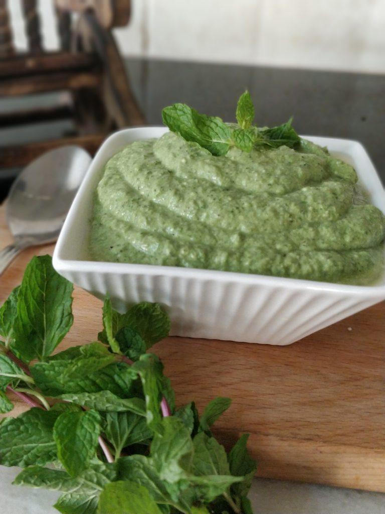 Green Chutney - Restaurant Style Recipe   Mint Coriander Chutney Recipe