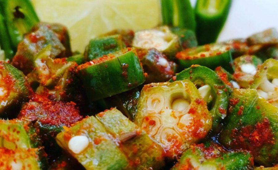 Achaari Bhindi Recipe