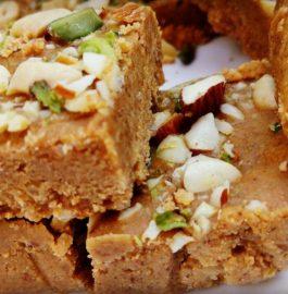 Besan Chakki | Rajasthani Besan Burfi Recipe