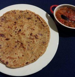 Mixed Veg Stuffed Paratha Recipe